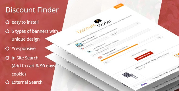 ADF - Amazon Discount Finder for WordPress - CodeCanyon Item for Sale