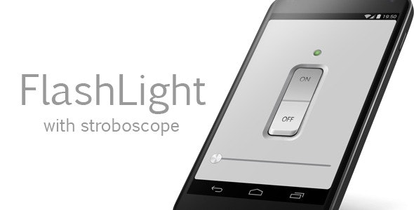 FlashLight with stroboscope - CodeCanyon Item for Sale