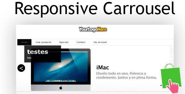 Prestashop Responsive Carousel - CodeCanyon Item for Sale