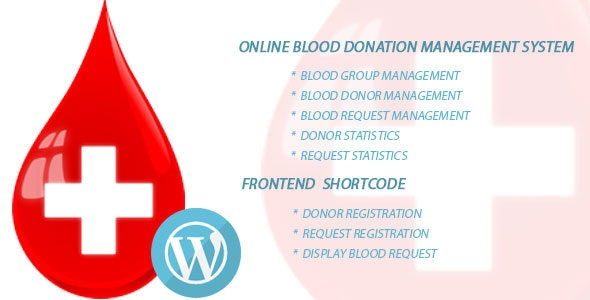 BloodBank – Online Blood Donation Management - CodeCanyon Item for Sale