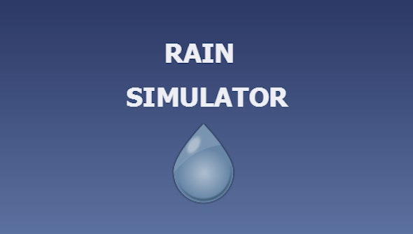 Rain Simulator - CodeCanyon Item for Sale