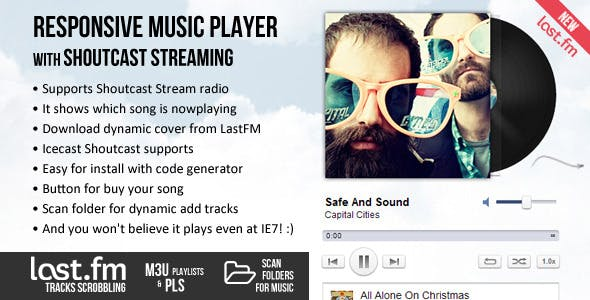 Coolest Music Player & Shoutcast Stream