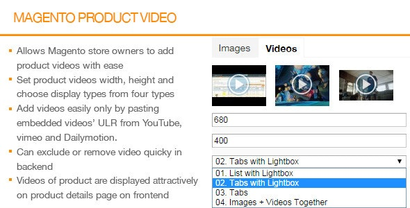Magento Product Video - CodeCanyon Item for Sale
