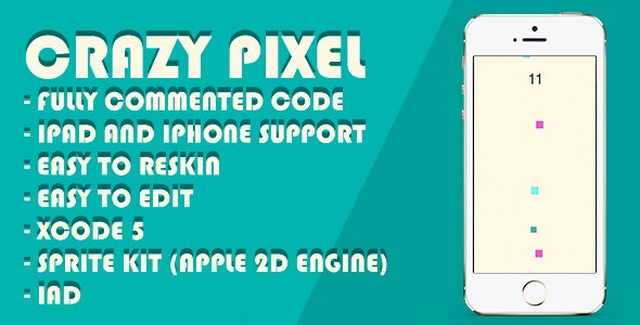 Crazy Pixel - CodeCanyon Item for Sale