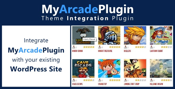 MyArcadePlugin - Theme Integration - CodeCanyon Item for Sale