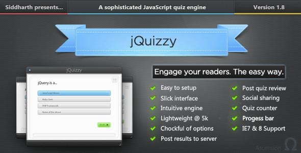 jQuizzy Classic - Premium Quiz Engine - CodeCanyon Item for Sale