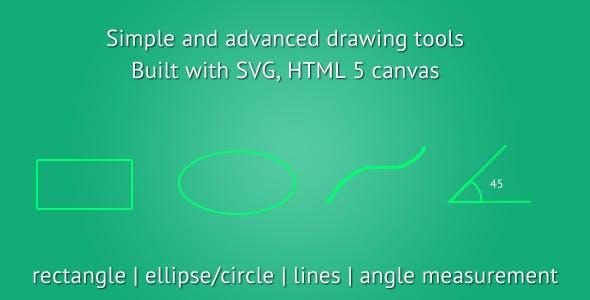 HTML5 Drawing Tools