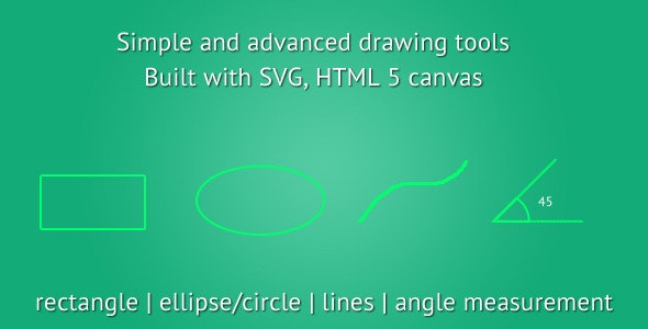 HTML5 Drawing Tools - CodeCanyon Item for Sale