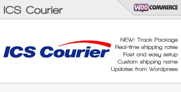 ICS Courier Shipping Method for WooCommerce