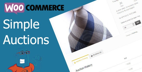 WooCommerce Simple Auctions - WordPress-Auktionen