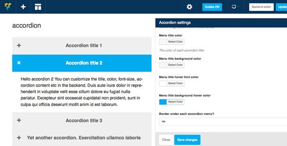 WPBakery Page Builder (formerly Visual Composer) Add-on - CSS3 Accordion - CodeCanyon Item for Sale