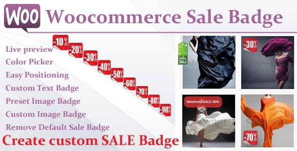 Woocommerce Sale Badge