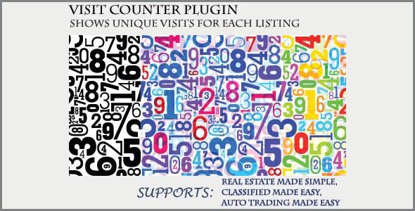 Visit Counter - Classifieds Plugin