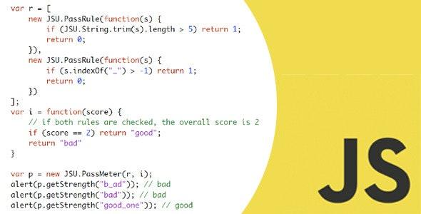 Javascript Framework & Plugins - CodeCanyon Item for Sale