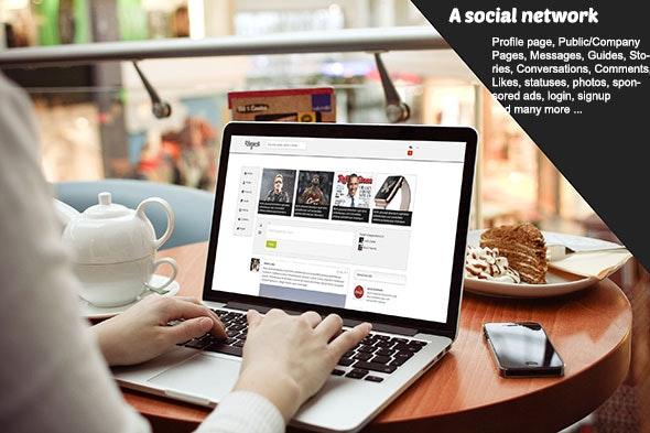 Wayami Skin (A Social Network) - CodeCanyon Item for Sale