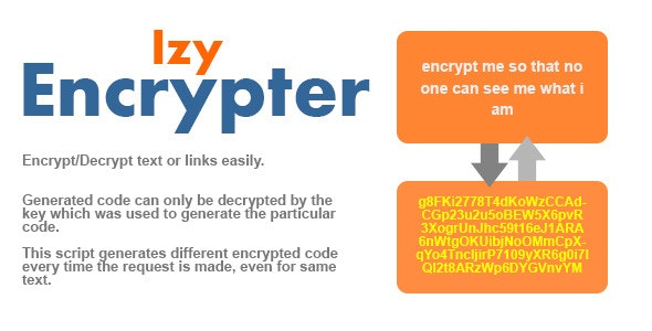 Izy Encrypter - CodeCanyon Item for Sale