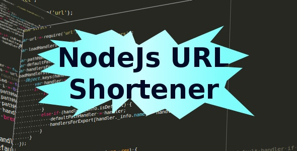 NodeJs URL shortener - CodeCanyon Item for Sale