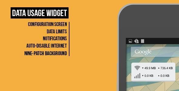 Data Usage Widget