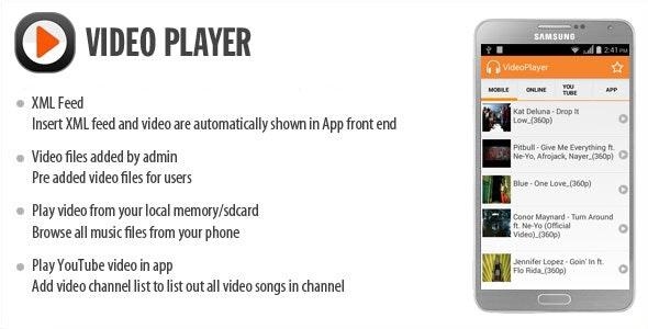 Video Player by wpnova | CodeCanyon