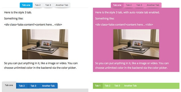 WPBakery Page Builder (formerly Visual Composer) Add-on - Tabs - CodeCanyon Item for Sale