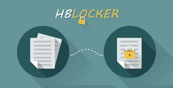 HBLocker Locking Files - CodeCanyon Item for Sale