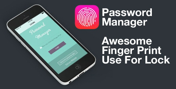 Finger Print - Touch ID - Password Manager V 1.3 - iOS 9 - CodeCanyon Item for Sale