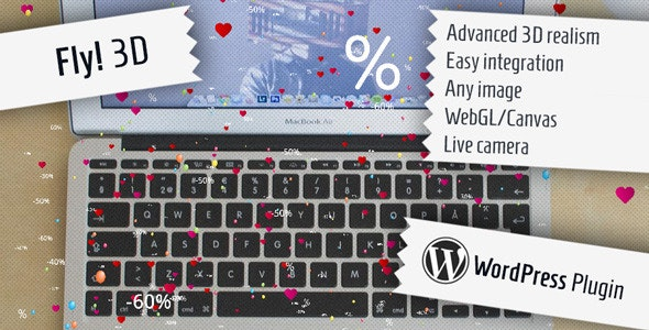 Fly! 3D - Attractive Plugin for WordPress - CodeCanyon Item for Sale