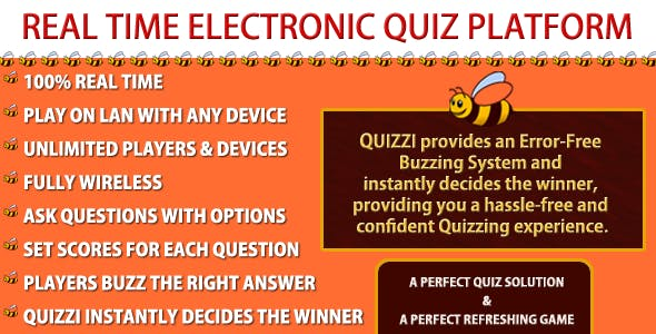 The Electronic Quiz Platform - Quizzi