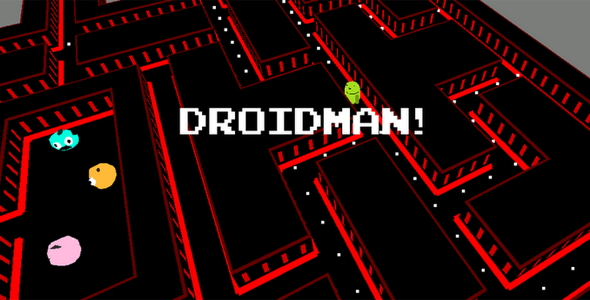 Droidman 3D - 3D Game with Admob