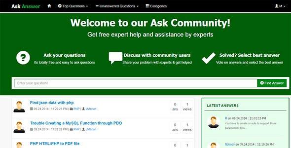 Ask & Answer - Community Script