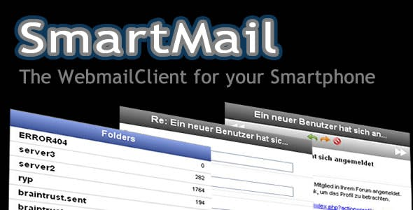 SmartMail - Web Mail Client for your Smartphone