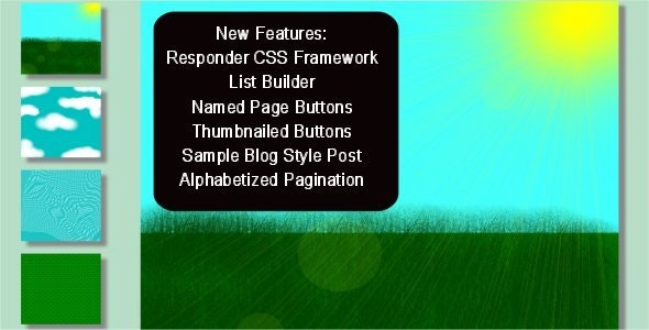 Paginate Page Building Framework - CodeCanyon Item for Sale