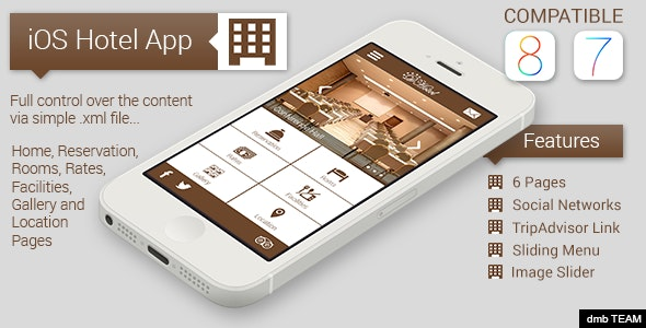 iOS Hotel App - CodeCanyon Item for Sale