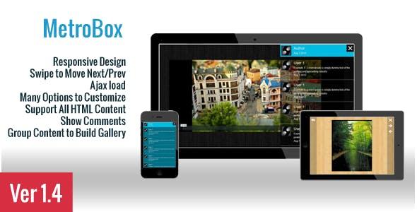 MetroBox - Responsive LightBox