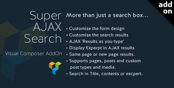 Super AJAX Search Element