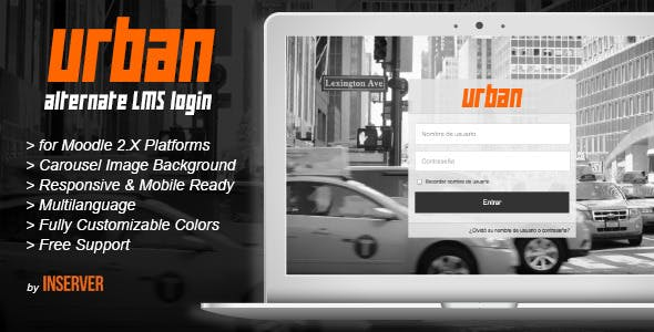 URBAN alternate LMS login | Moodle Plugin