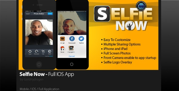 Selfie Now - CodeCanyon Item for Sale