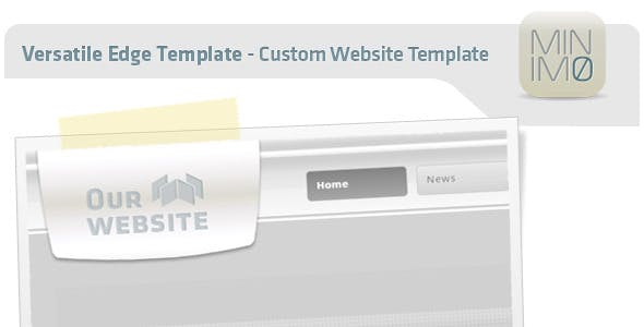 Versatile Edge Template - Custom Website Template