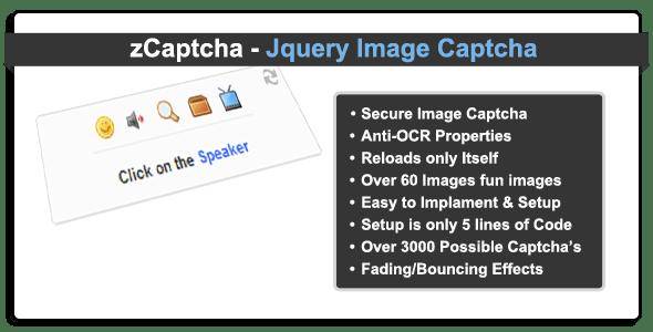 zCaptcha - Jquery Image Captcha