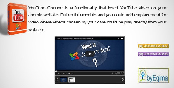 EQ Youtube Channel  - CodeCanyon Item for Sale
