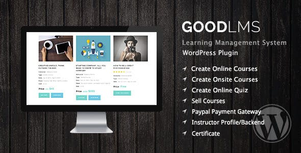 Good LMS - Learning Management System WP Plugin        Nulled