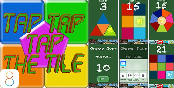 TapTapTheTiles - CodeCanyon Item for Sale