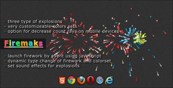 Firemaks - Fireworks jQuery Plugin
