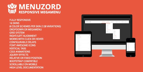 Menuzord - Responsive Megamenu