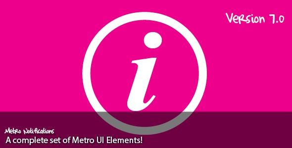 Metro Notifications