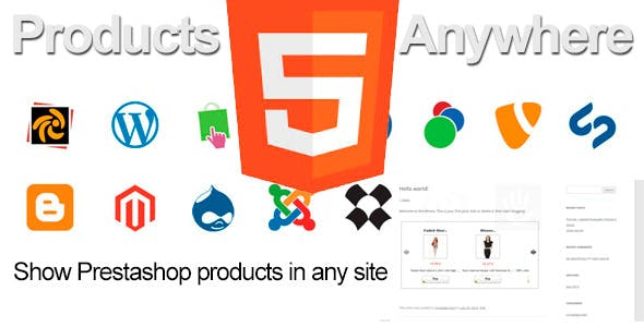 Prestashop Products Anywhere
