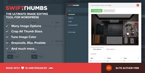 SwiftThumbs - Premium Image Tool for WordPress - CodeCanyon Item for Sale