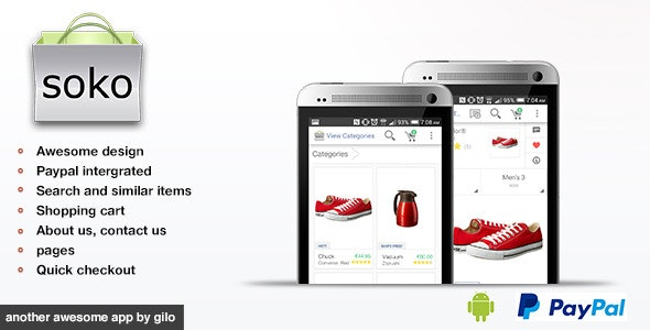Soko - Mobile Store - CodeCanyon Item for Sale