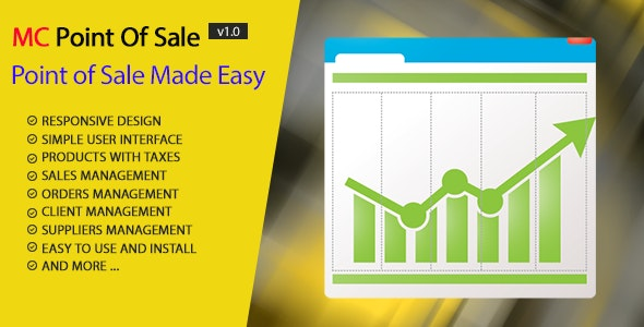 MC Point Of Sale Script - CodeCanyon Item for Sale
