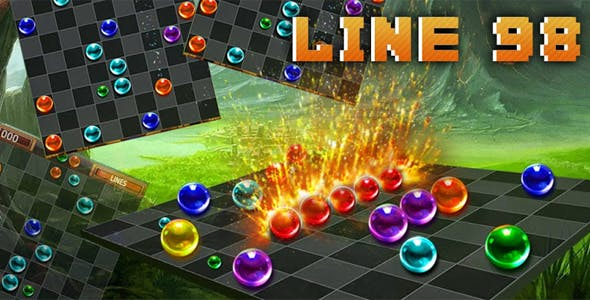 Lines 98 Classical Game with Admob